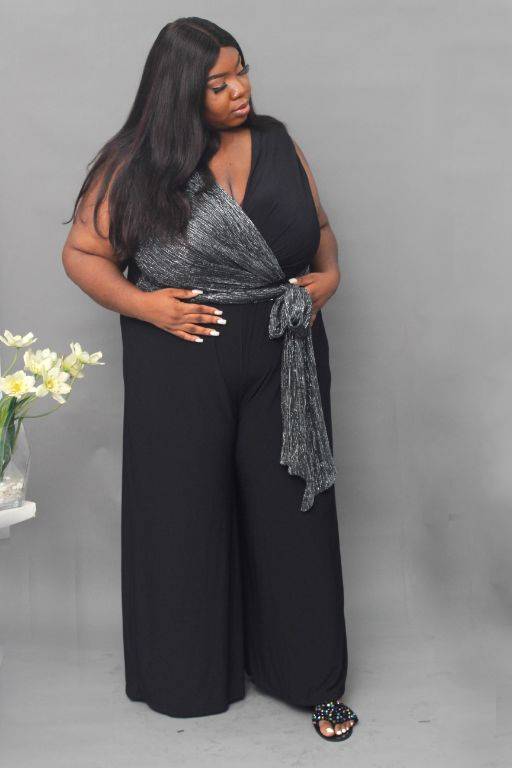 PLUS SIZE JUMPSUITS AT LC AND CHEEKS