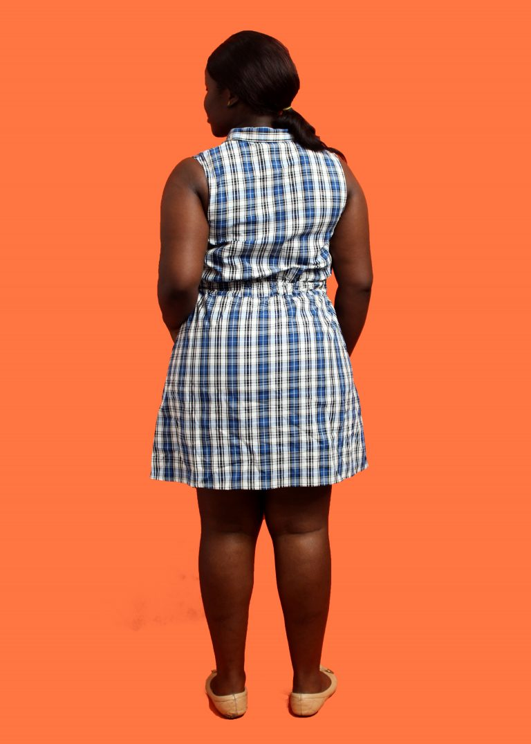 Check Tie Dress - Shop LC and Cheeks