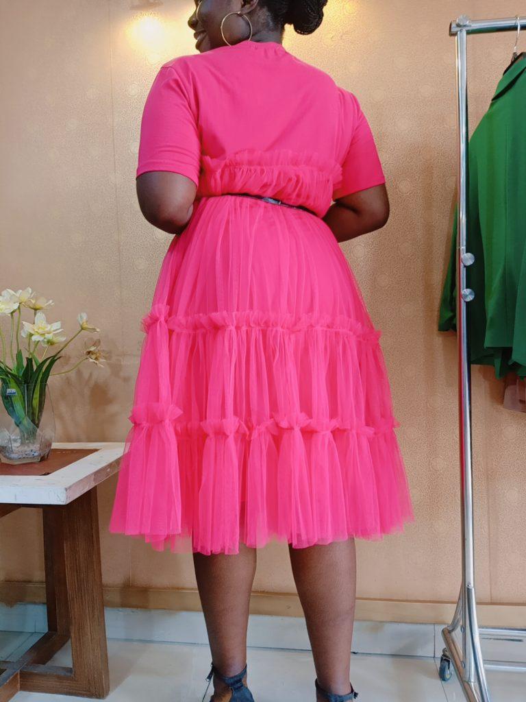 Pink Abi Dress