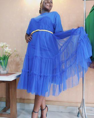 Blue Abi Dress